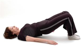bridge pose excercise from chiropractor north london