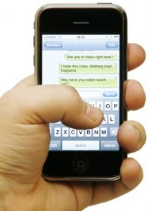 texting excersises from north london chiropractor dylan paydar